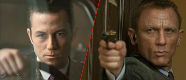 Josep Gordon Levitt i «Looper» og Daniel Craig i «Skyfall»