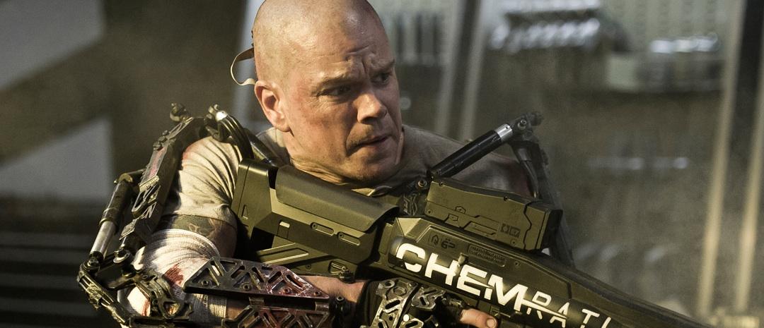 Matt Damon i Elysium (2013)