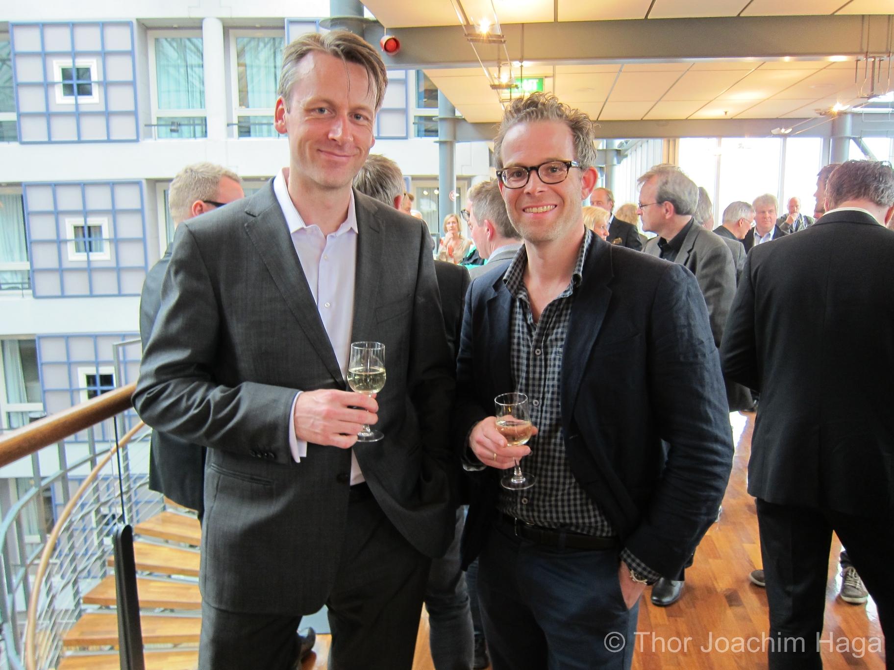 Knut Avenstroup Haugen og Henrik Skram