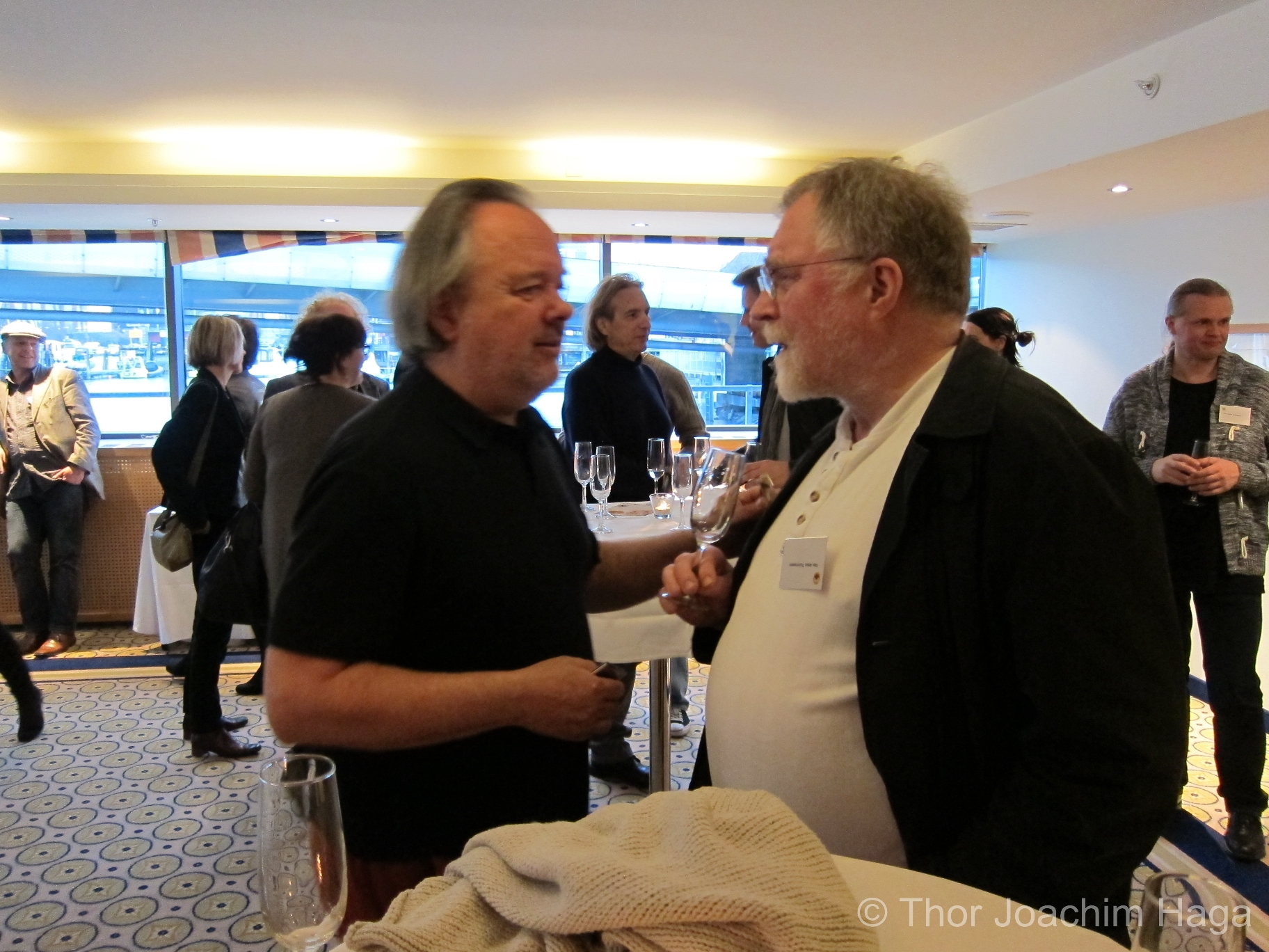 Geir Bøhren og Olav Anton Thommessen