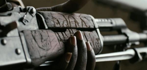 Våpenet i barnets hender.
