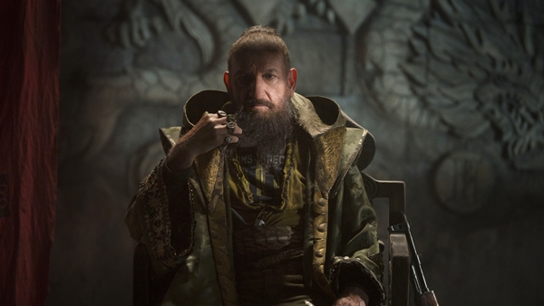 Ben Kingsley som den mystiske The Mandarin.