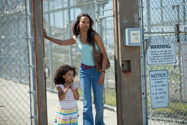 "Zoe Saldana i ""Blood Ties"" (Canet, 2013)"