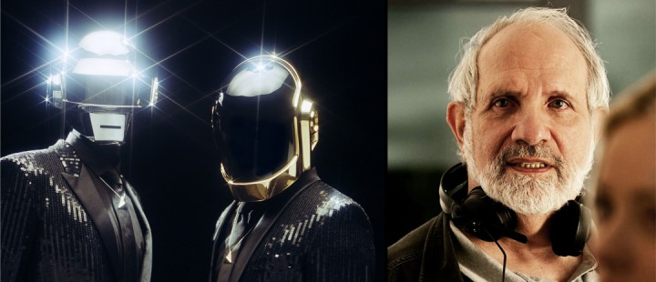 Daft Punk i samtale med Brian De Palma om ukjent prosjekt