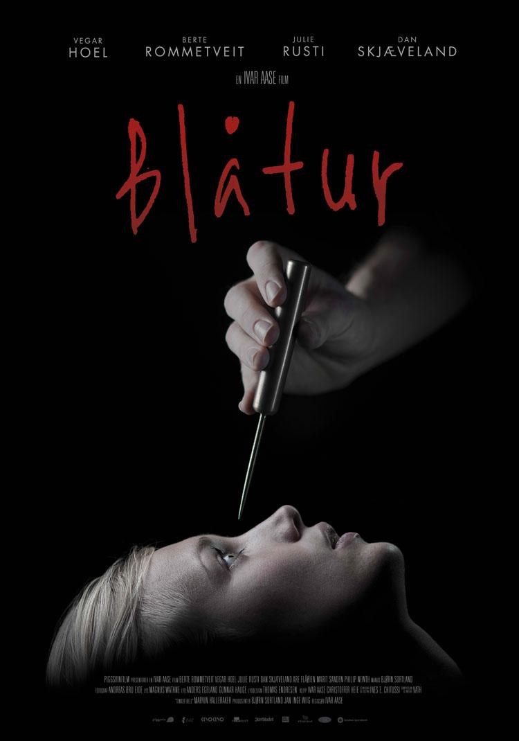 Blåtur - kinoplakat