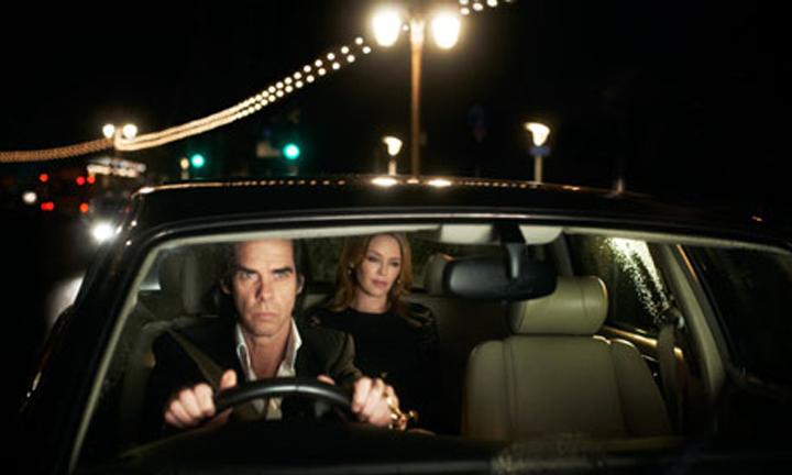 Nick Cave og Kylie Minogue i «20,000 Days On Earth»