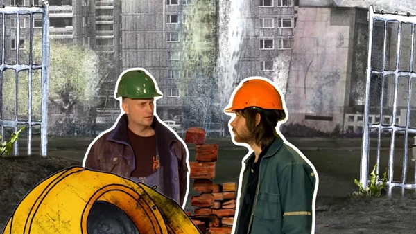 «Bygningsarbeidere» (2008)