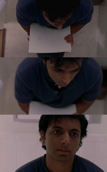 Shyamalan and Story montage