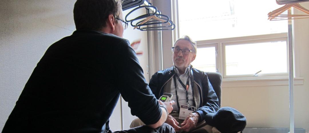Vi har møtt den legendariske filmfotografen Vilmos Zsigmond (Nærkontakt av tredje grad, Blow Out)