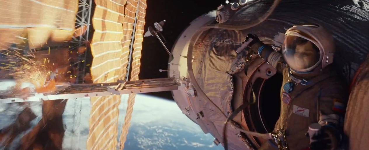 Dramatisk kinotrailer til Alfonso Cuaróns Gravity