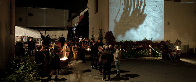Bilde fra festivalens debutår (2011) på Fabrikken, før den senere har flyttet seg til Kulturhuset Banken