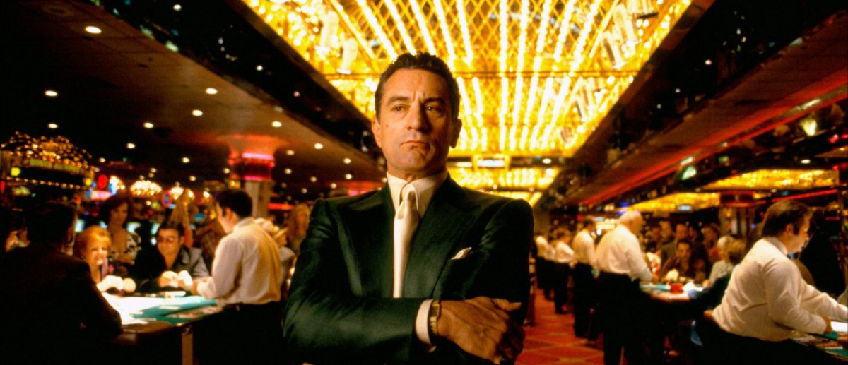 Robert De Niro som Sam 'Ace' Rothstein i «Casino»