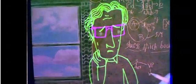 Ny trailer ute for Michel Gondrys illustrerte Noam Chomsky-dokumentar