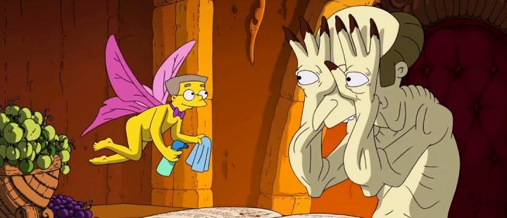 Se Guillermo Del Toros åpningssekvens til årets Halloween-spesial fra The Simpsons