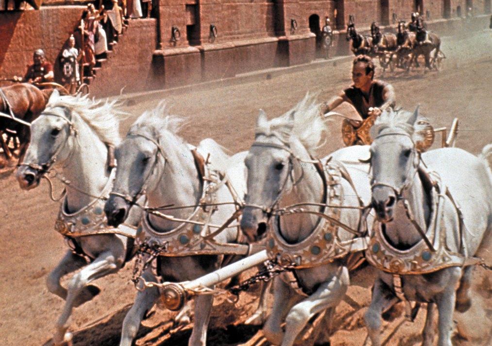 Ben Hur (1959) og det kjente hesteløpet