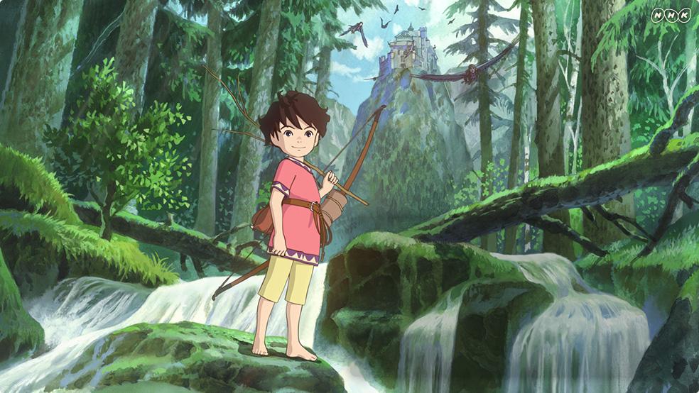 Første bilde fra Miyazakis «Ronja».
