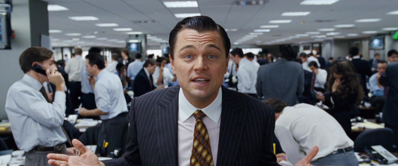 Leonardi DiCaprio i «The Wolf of Wall Street»