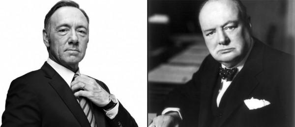 Kevin Spacey vil spille Winston Churchill i biopic-en Captain of the Gate