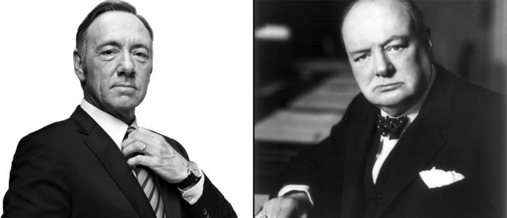 Kevin Spacey vil spille Winston Churchill i biopic-en Captain of the Gate