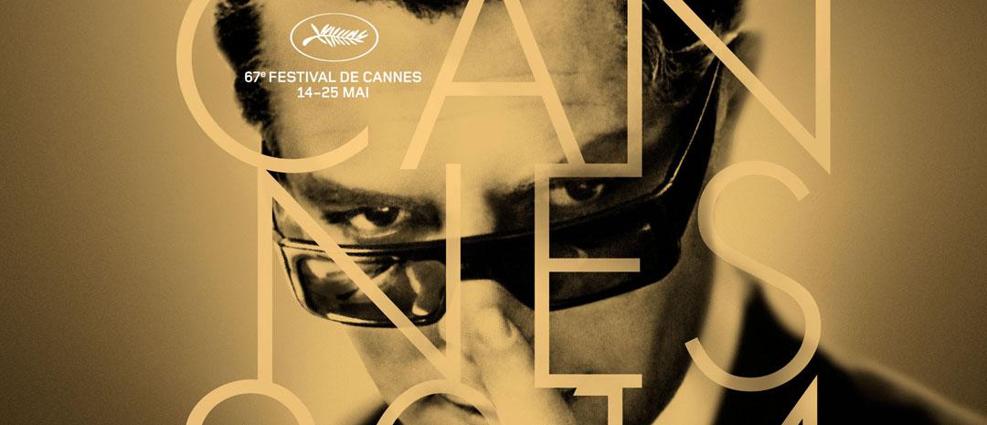 Stilfullt Fellini-ikon i sentrum på Cannes-festivalens offisielle plakat for 2014