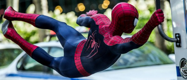"""Andrew Garfield in a scene from the motion picture """"The Amazing Spider-Man."""" CREDIT: Niko Tavernise, Columbia PIctures [Via MerlinFTP Drop]"""