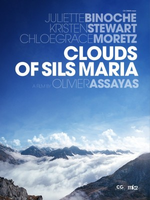 Plakaten til Assayas' «Clouds of Sils Maria».