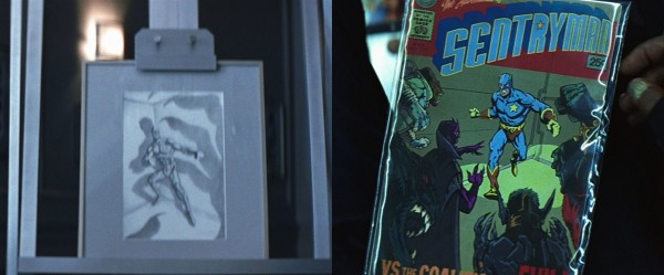 comic book art foreshadowing