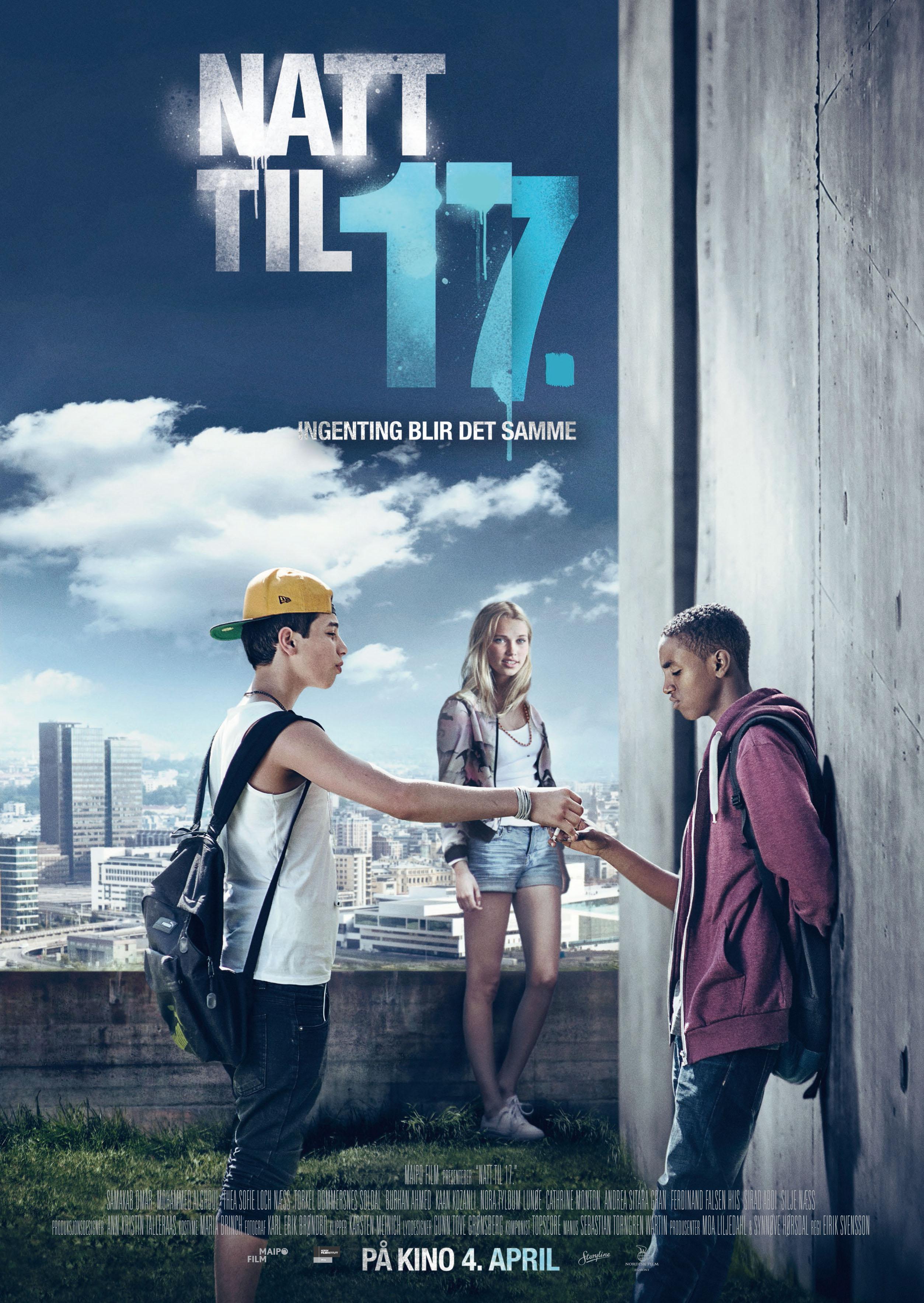 «Natt til 17.» – kinoplakat