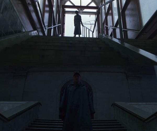 David and Elijah staircase