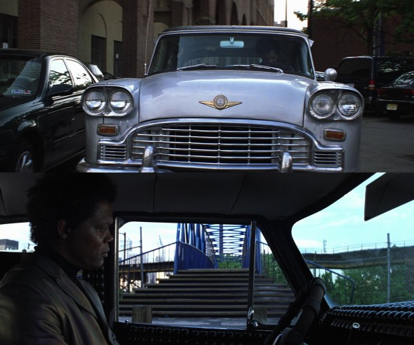 Elijah in the car