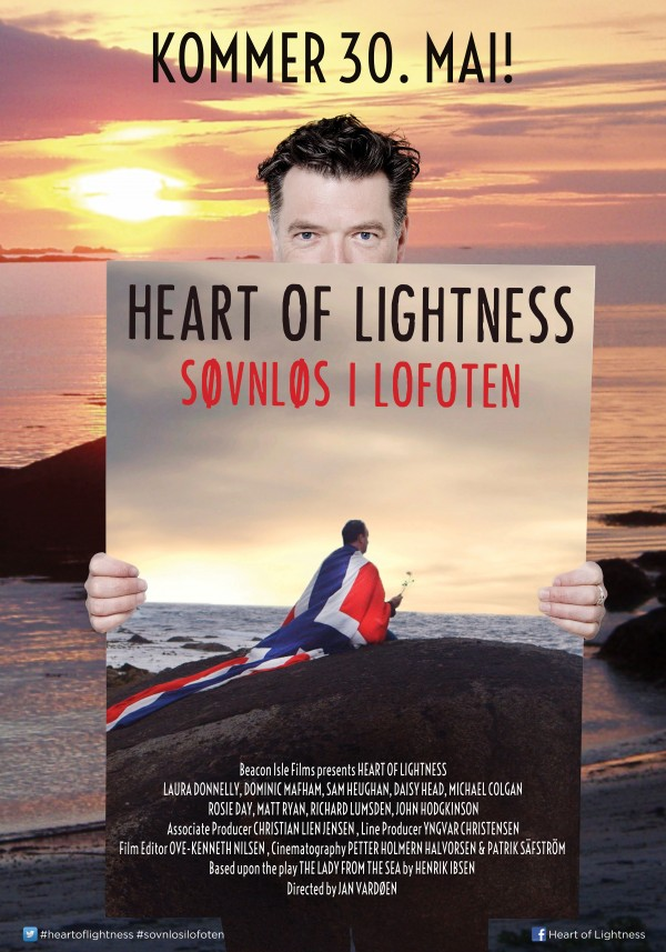 «Heart of Lightness – Søvnløs i Lofoten» – kinoplakat