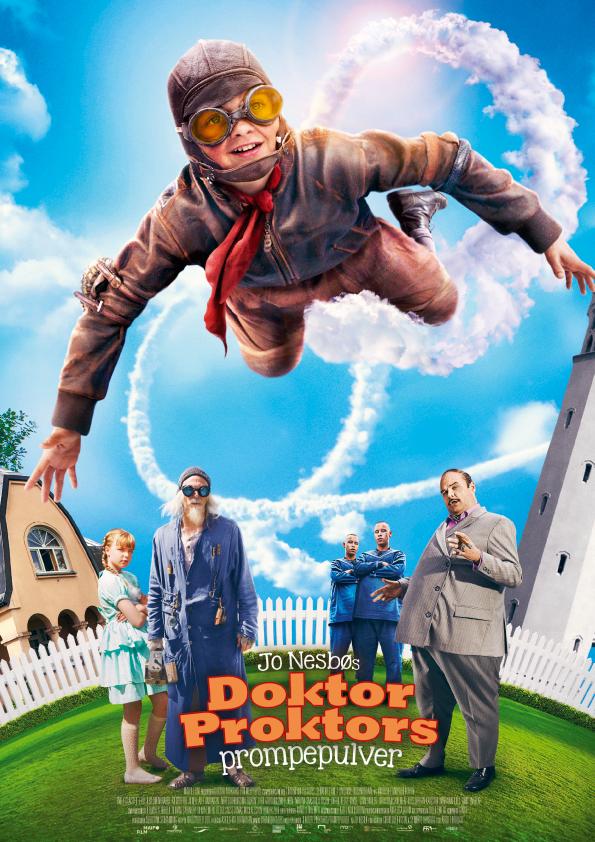 «Doktor Proktors prompepulver» – kinoplakat