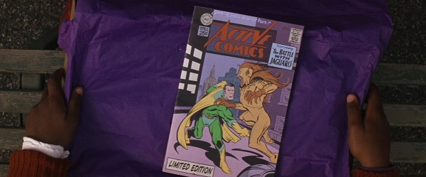 purple comic book