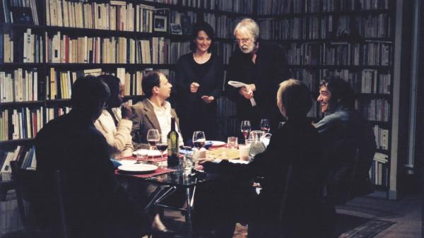 Haneke og Juliette Binoche under innspillingen av «Skjult»