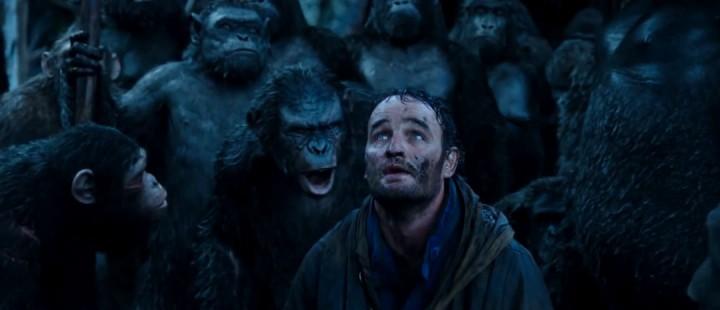 En majestetisk filmopplevelse tar form under mørke skyer i Dawn of the Planet of the Apes