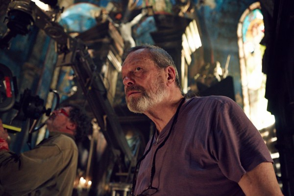 Terry Gilliam på settet til The Zero Theorem (Foto: http://www.thezerotheorem-movie.com)