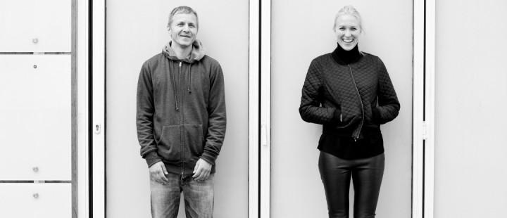Halvor Skree og Ingrid Sølverud i ActionFilm. Foto: Haakon Nordvik.