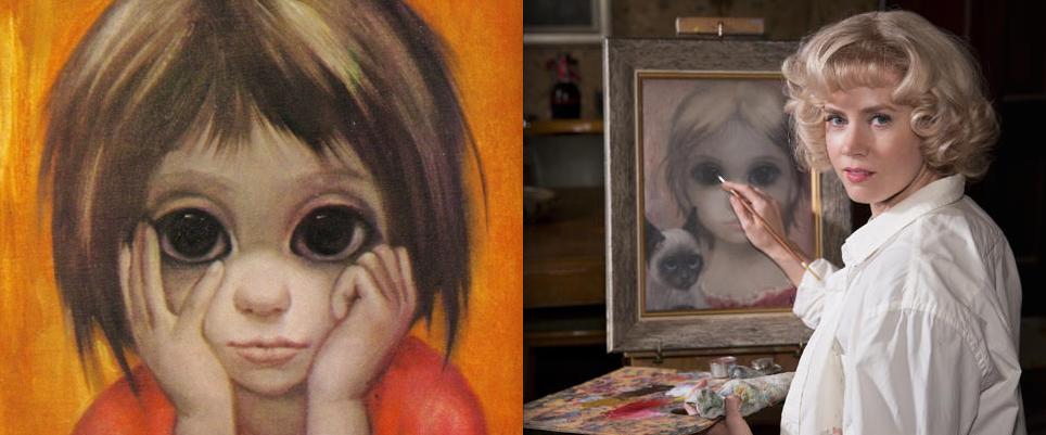 Se de første bildene fra Tim Burtons Big Eyes, med Amy Adams og Christoph Waltz