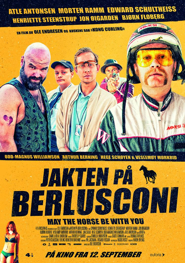 «Jakten på Berlusconi» – kinoplakat