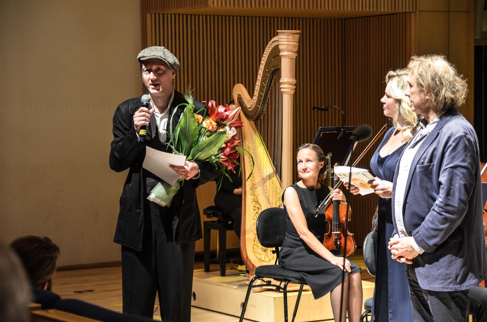 Matti Bye vinner årets HARPA-pris for musikken til Faro. Foto: Eirik Myhr