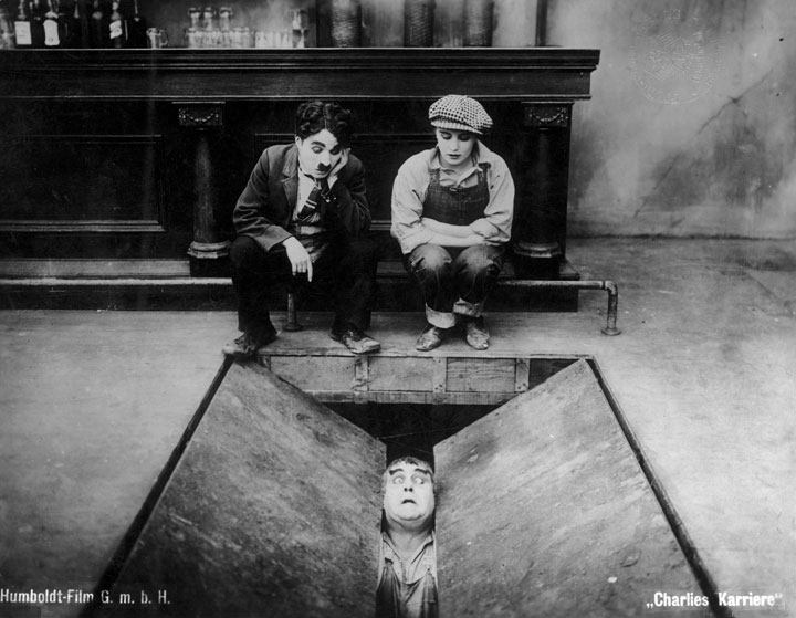 Behind the Screen (Charlie Chaplin).