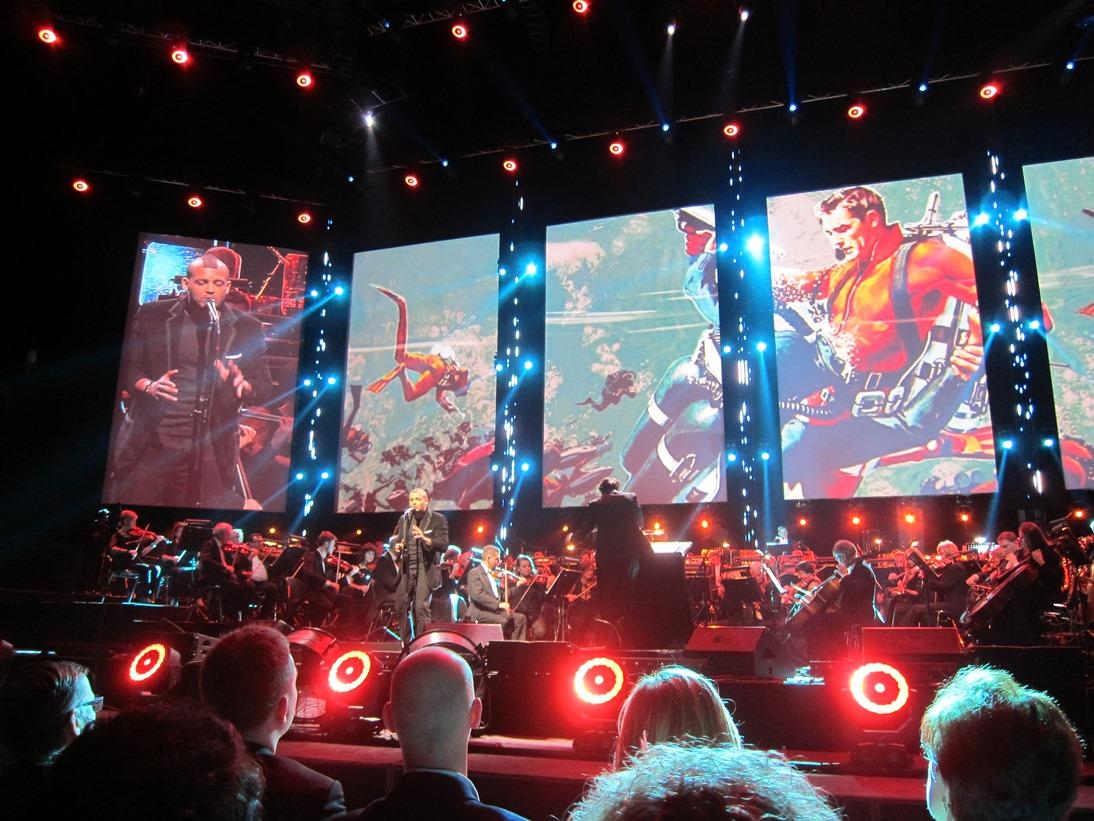 Fra James Bond-konserten. Foto: Thor J. Haga