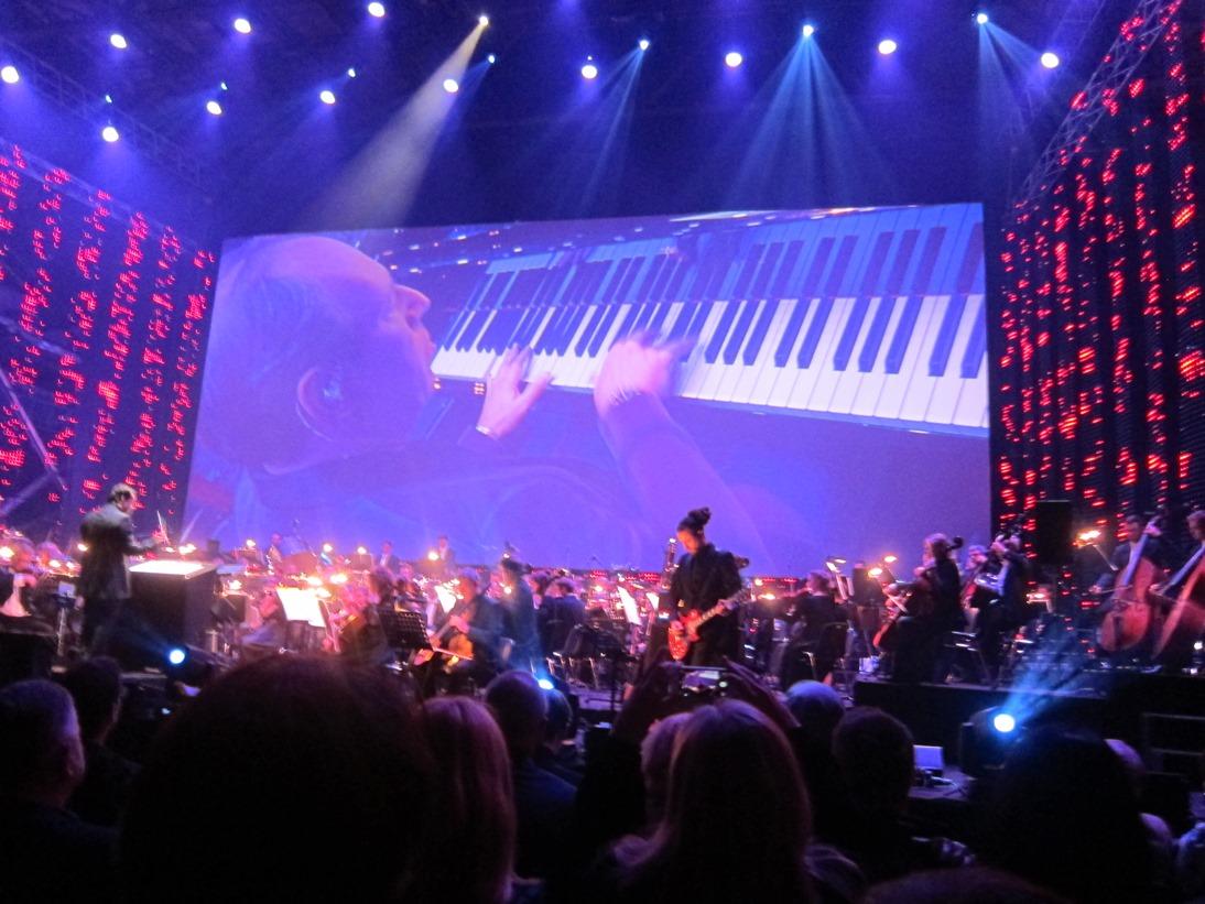 Fra Inception-suiten med Hans Zimmer på piano. Foto: Thor J. Haga