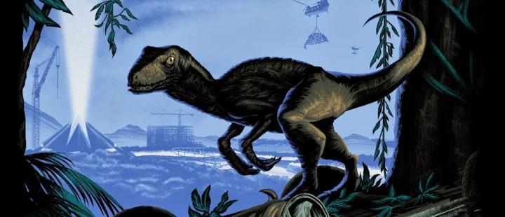 Se den første plakaten til Jurassic World