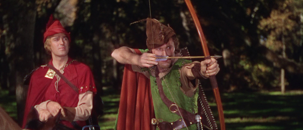 Swashbucklerfilm i strålende Technicolor: The Adventures of Robin Hood