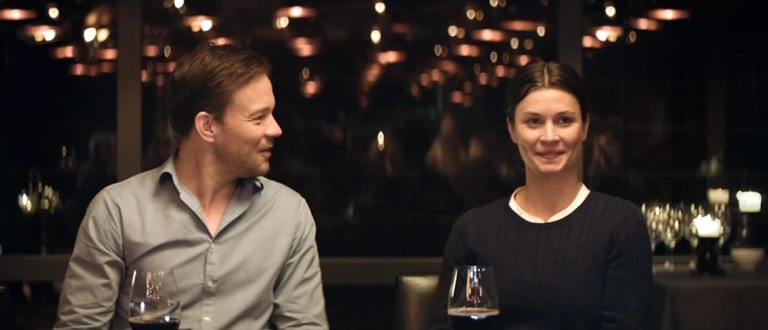 Johannes Kuhnke og Lisa Loven Kongsli.