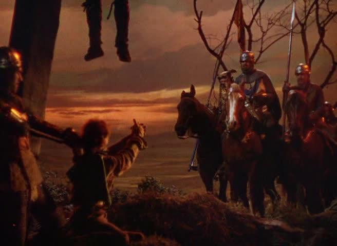 Curtiz gir disse tortursekvensene en helt egen fargepalett som er mer urovekkende enn filmens varme grønn, rød og blåfarger.