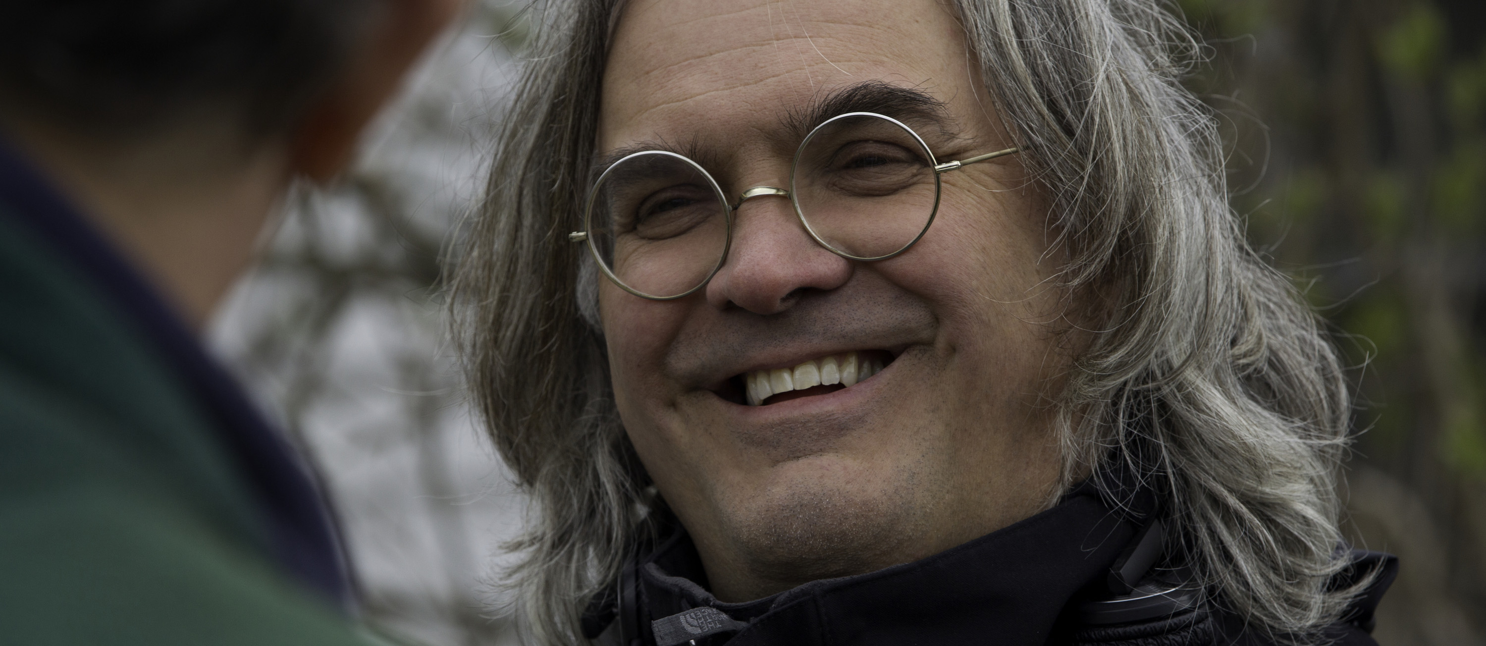 "Director Paul Greengrass on the set of Columbia Pictures' ""Captain Phillips,"" starring Tom Hanks."