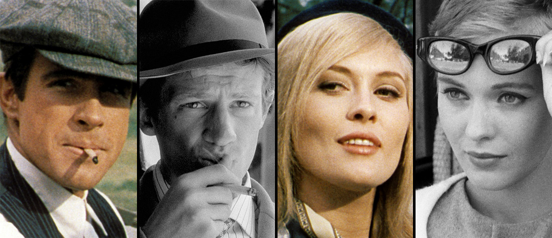 «Bonnie and Clyde» og «À bout de souffle»