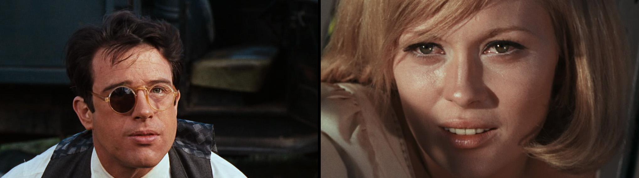 Bonnie og Clyde.